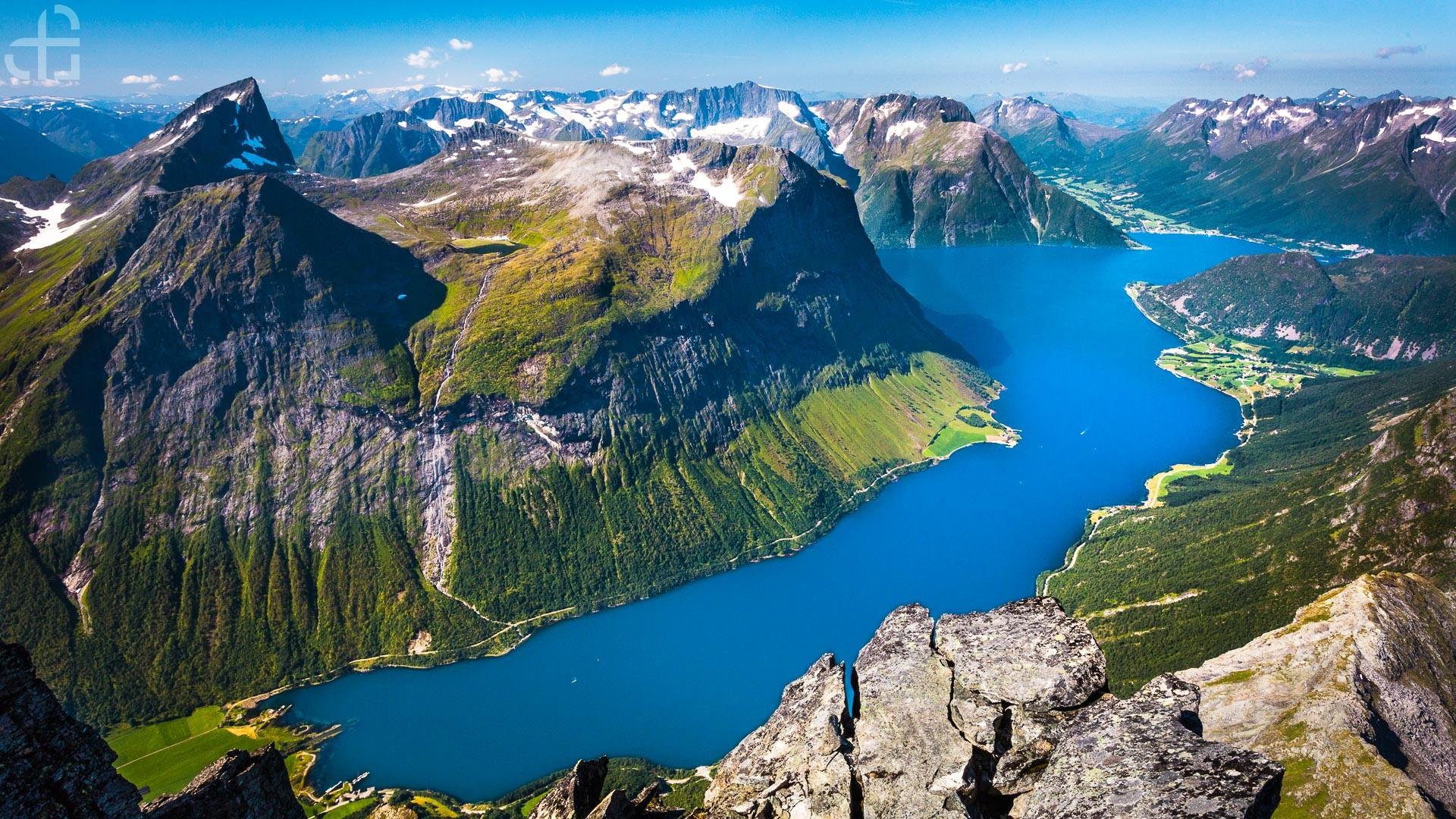 fiordy norwegia gdzie