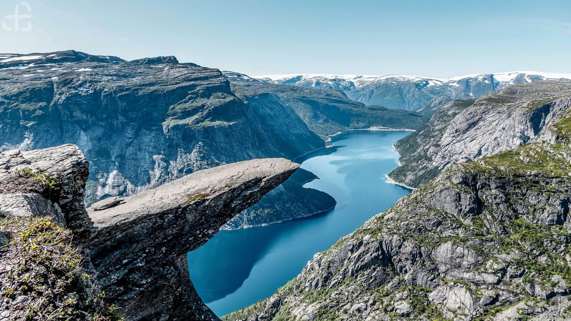 Norwegia Zachodnia Trolltunga Czyli Jezyk Trolla Portal