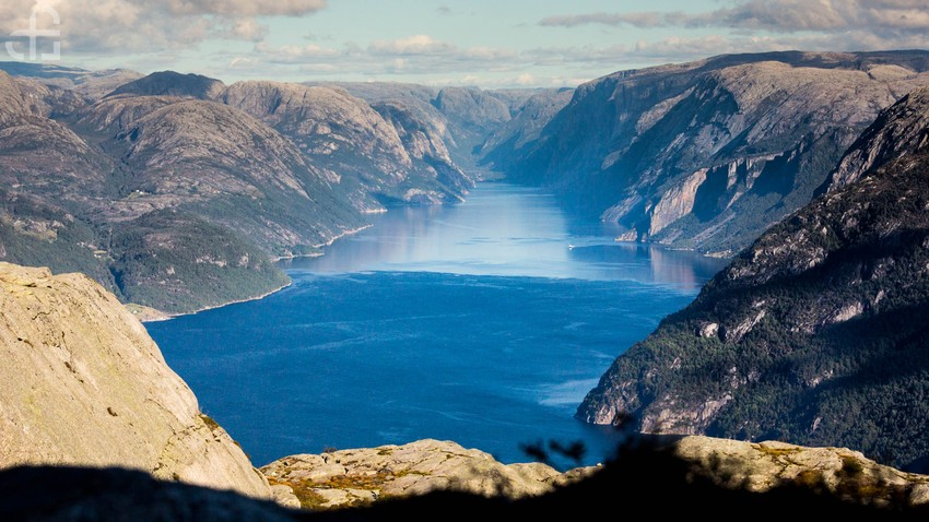 Lysefjord. Granitowy fiord